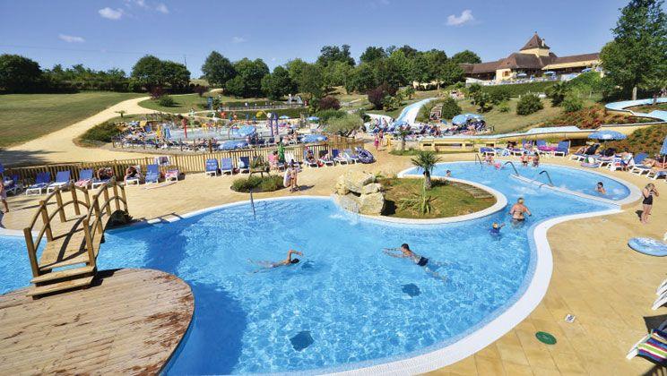 St Avit Loisirs Swimming Pool in the Dordogne
