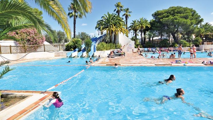 La Baume swimming area perfect for kids!