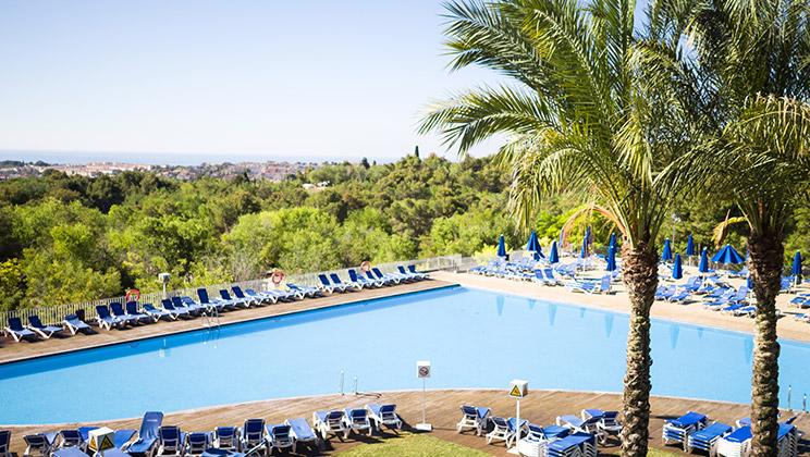 Fantastic setting at Vilanova Park in Spain