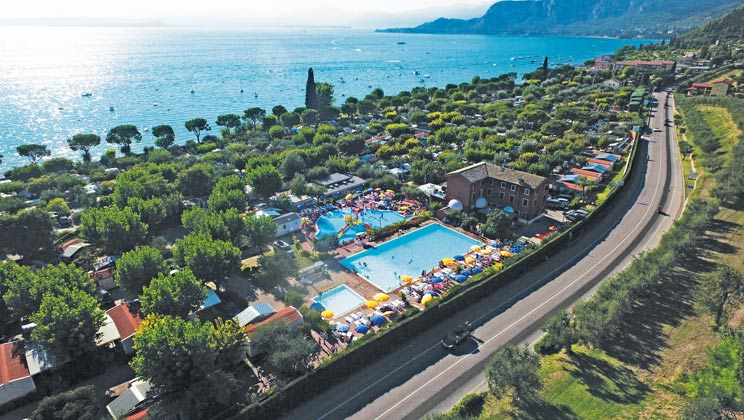 Stunning Serenella Campsite Lake Garda